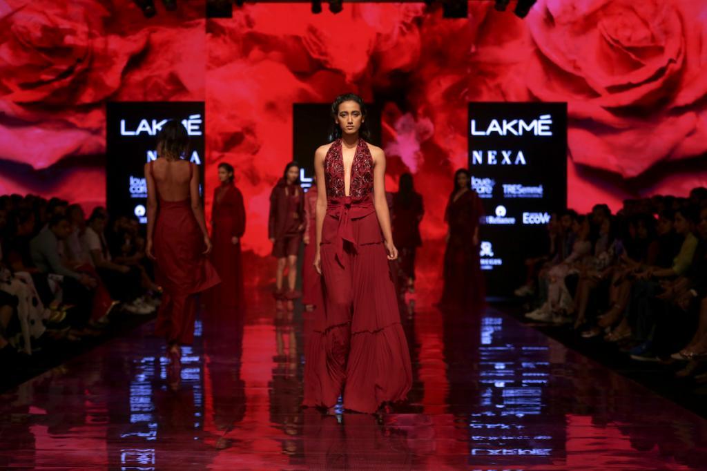 Disha Patil, Winter 2019, Lakme Fashion Week
