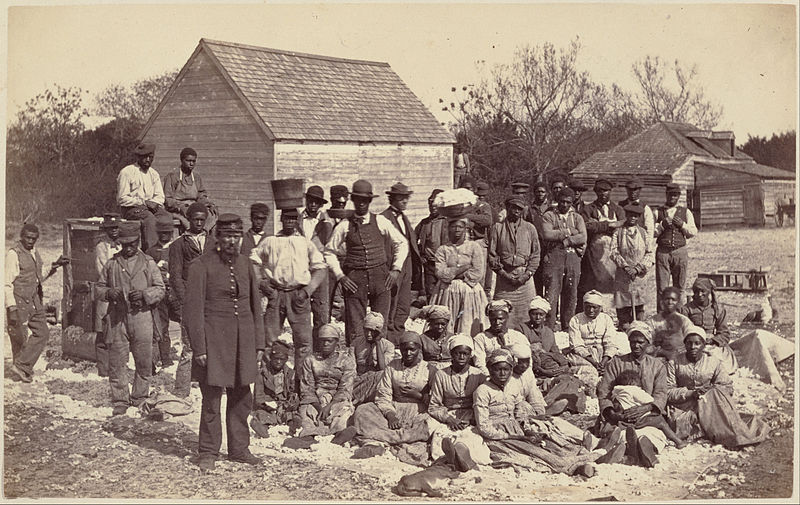 Slaves of  Confederate General Thomas F. Drayton, 1862