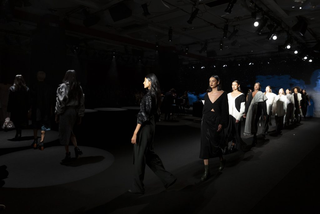 Fucsia Manuela Alvarez show at BCapital 2019; photo c/o Inexmoda
