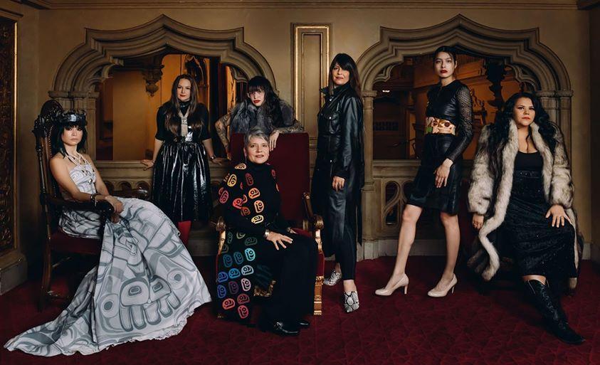 Vancouver Indigenous Fashion Week designs; photo c/o Farah Nosh