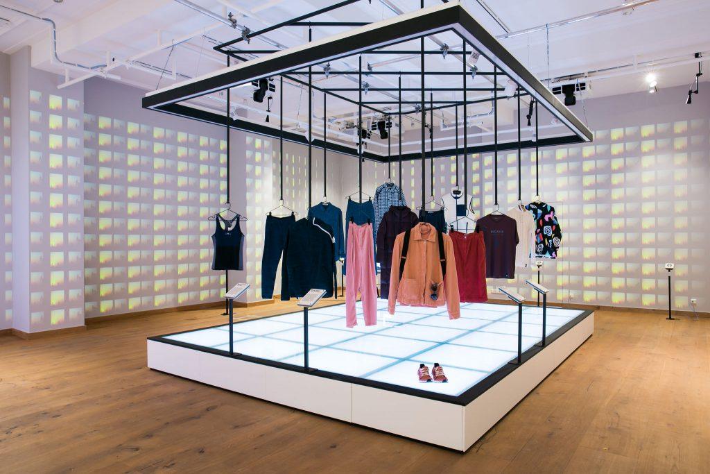 Fashion For Good installation; photo c/o Fashion For Good