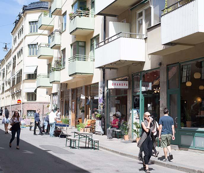 SoFo (South of Folkungagatan); photo c/o La Carmina