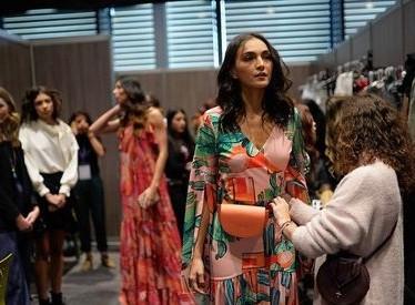 Backstage at Bogotá Fashion Week; photo c/o Bogotá Chamber of Commerce