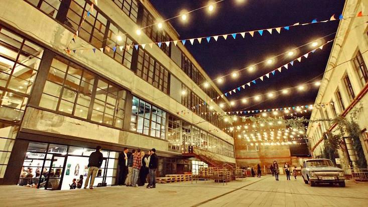 Fabrika in Tbilisi, Georgia; photo c/o Calvert Journal