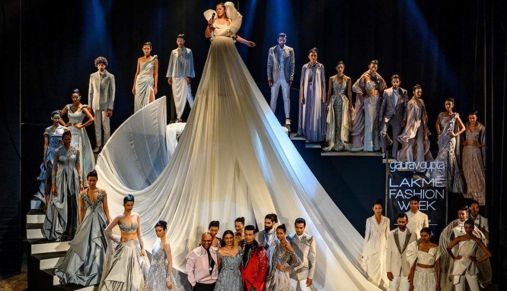Gaurav Gupta Summer 2019 at Lakme Fashion Week in Mumbai, India; photo c/o Indulge Express