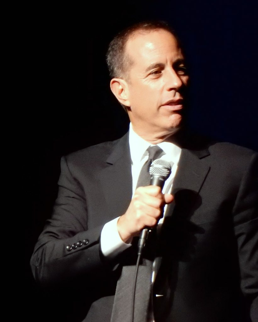 Comedian Jerry Seinfeld; photo c/o Wikipedia