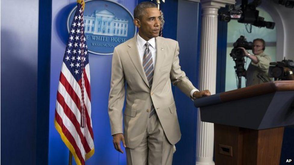 President Barack Obama (2014); photo c/o BBC