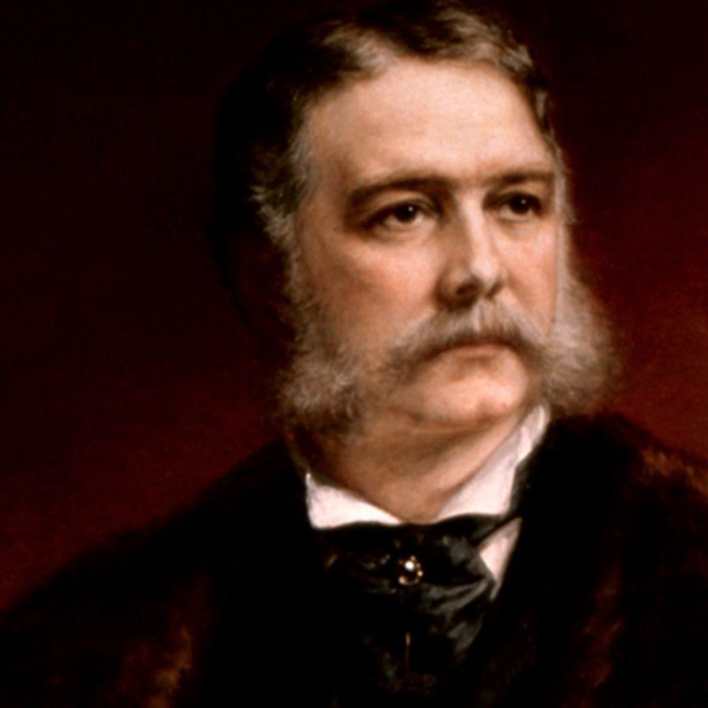 President Chester A. Arthur; photo c/o History.com