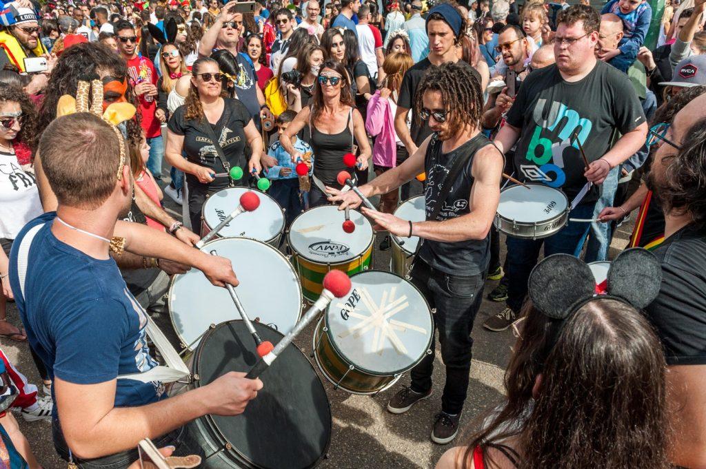 Street party, Kikar Hamedina in Tel Aviv, Israel; photo c/o Culture Trip