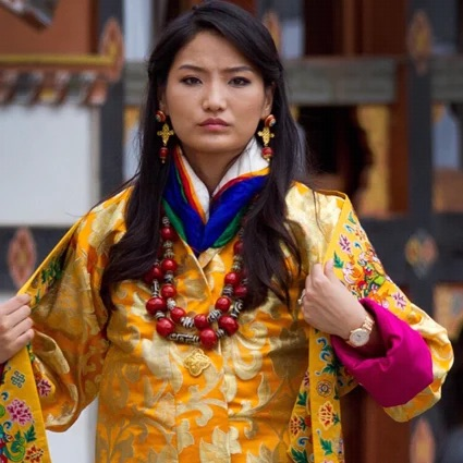 Queen Jetsun of Bhutan; photo c/o SCMP