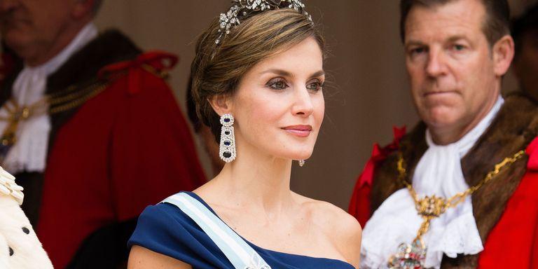 Queen Letizia of Spain; photo c/o Harper's Bazaar UK