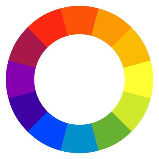 Color wheel; c/o InVision