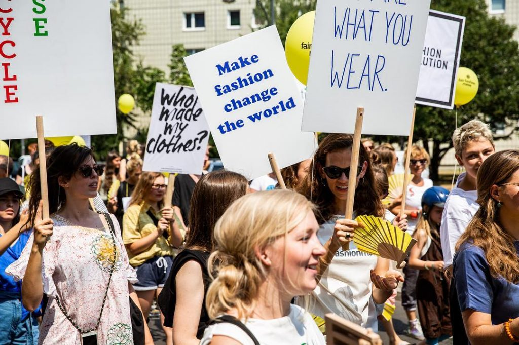 Photo c/o Fashion Revolution