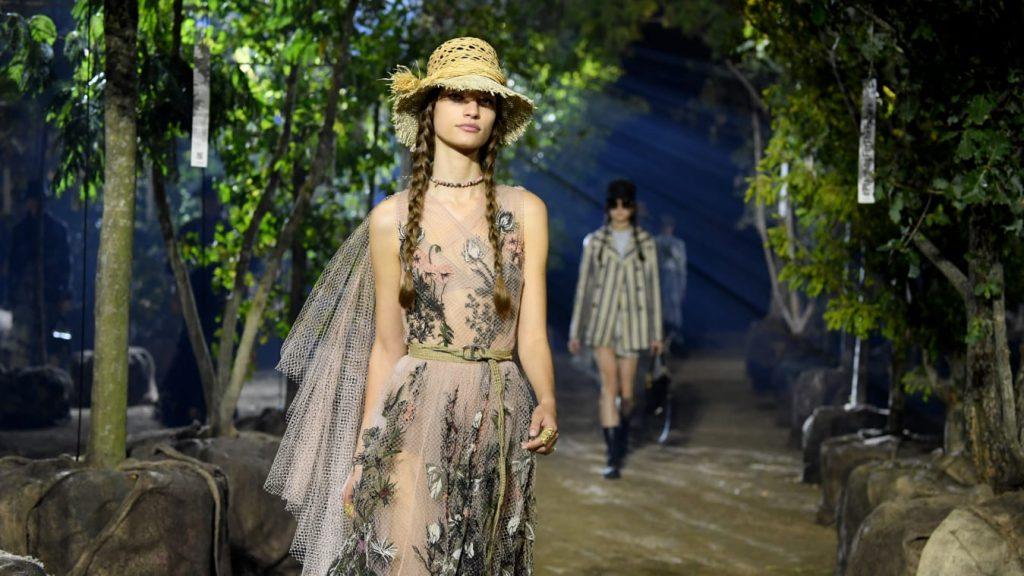 Sustainable Fashion Show; c/o CNN
