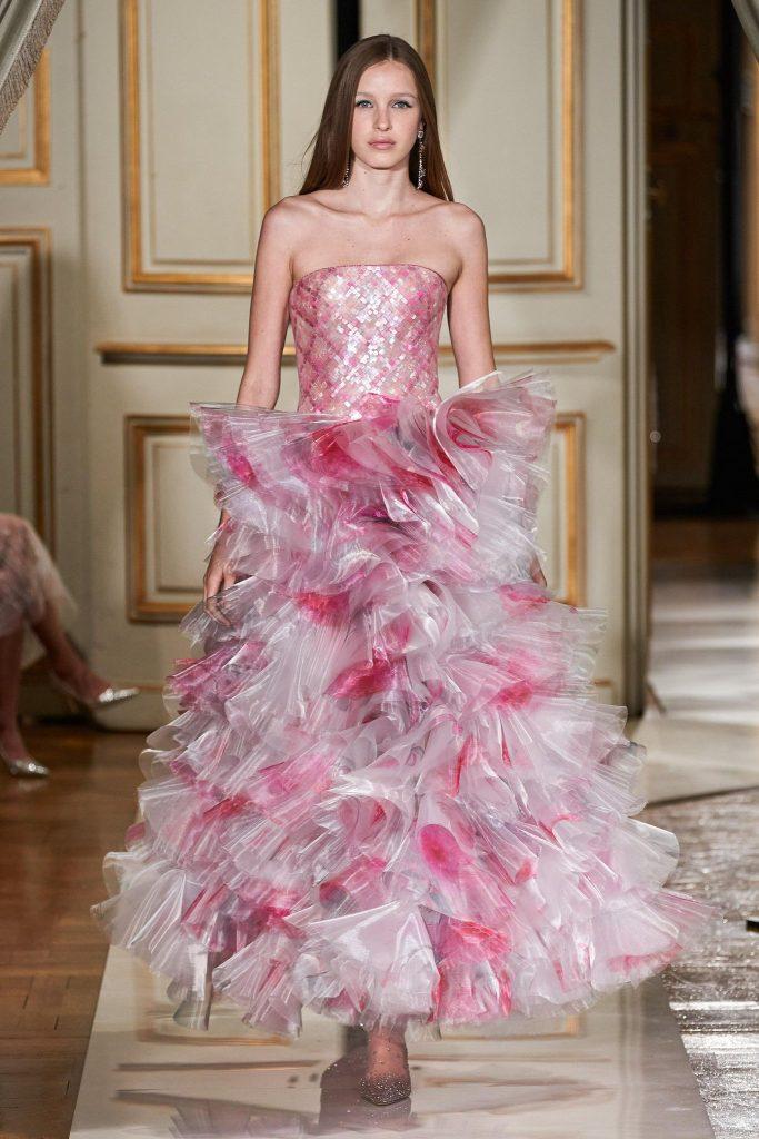 Armani Privé Fall/Winter 2021-22 Haute Couture; c/o Armani Privé