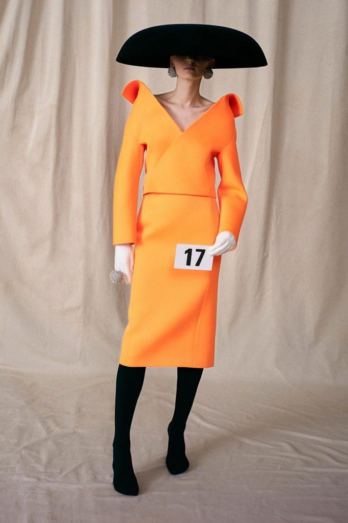 Balenciaga Fall/Winter 2021-22 Haute Couture; c/o Balenciaga