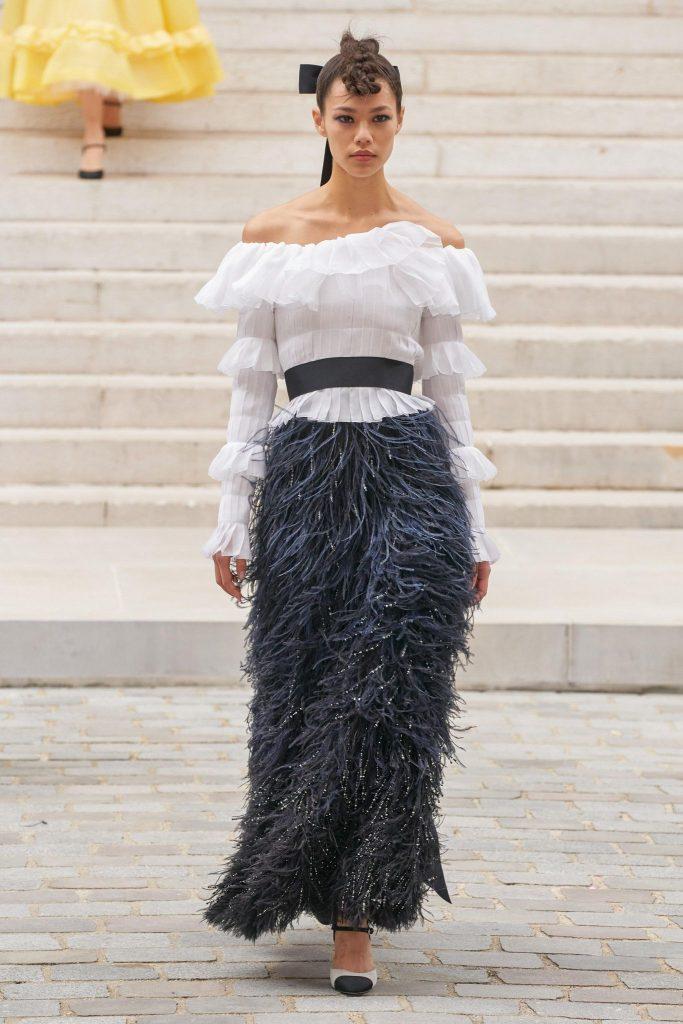 Chanel Fall/Winter 2021-22 Haute Couture; c/o Chanel