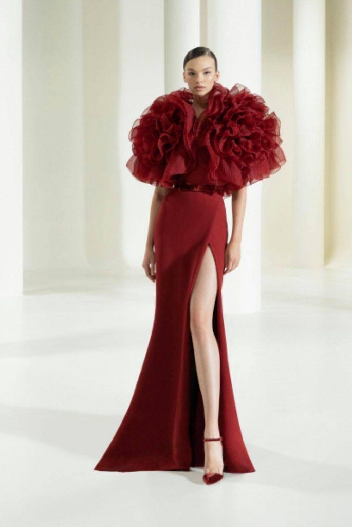 Elie Saab Fall/Winter 2021-22 Haute Couture; c/o Elie Saab