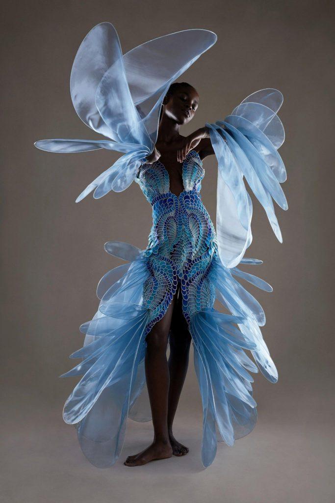 Iris Van Herpen Fall/Winter 2021-22 Haute Couture; c/o Iris Van Herpen