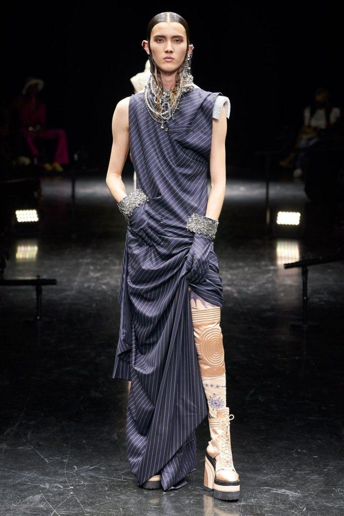 Jean Paul Gaultier Fall/Winter 2021-22 Haute Couture; c/o Jean Paul Gaultier
