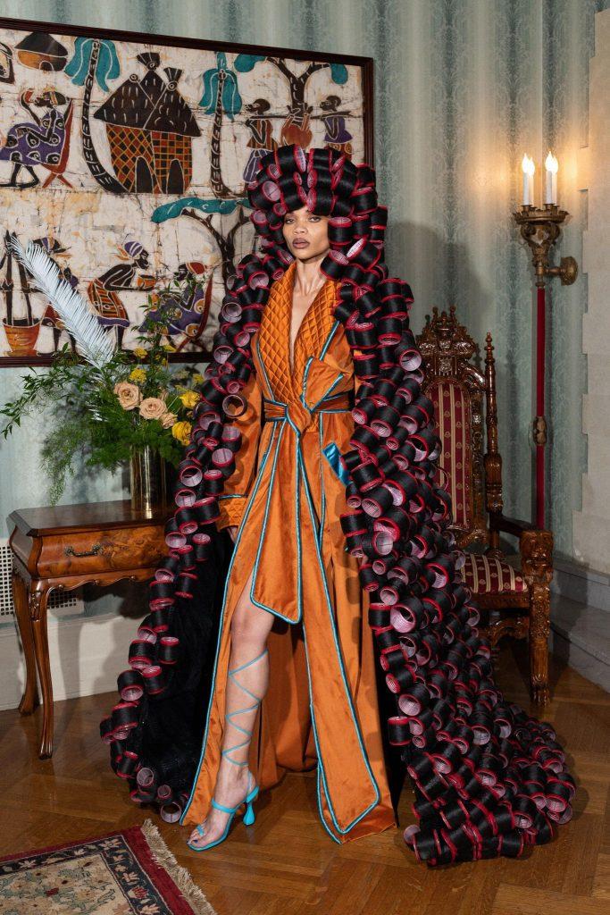 Pyer Moss Fall/Winter 2021-22 Haute Couture; c/o Pyer Moss