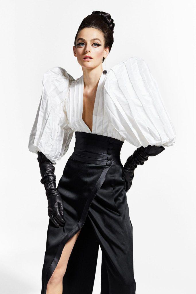 RVDK Ronald Van Der Kemp Fall/Winter 2021-22 Haute Couture; c/o RVDK
