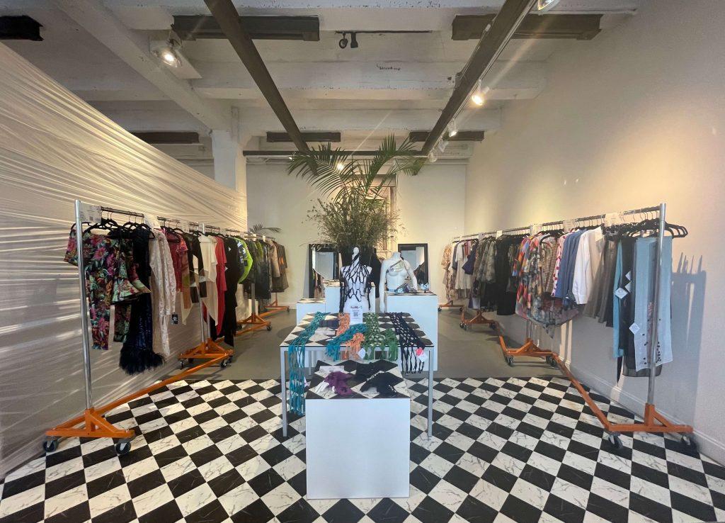 ILLUME exhibit, designer retail section; © Manic Metallic 2021