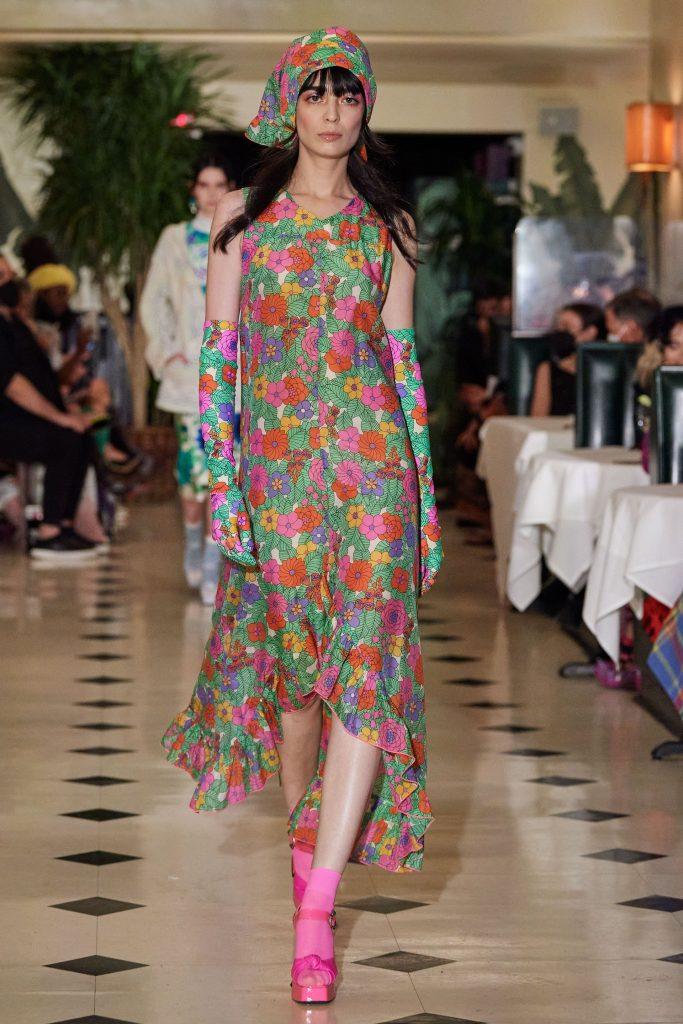 Anna Sui Spring/Summer 2022; c/o Anna Sui
